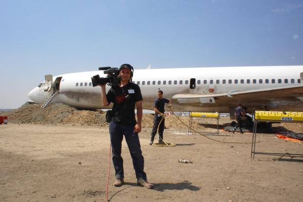 En un simulacro de hecatombe en Barajas
