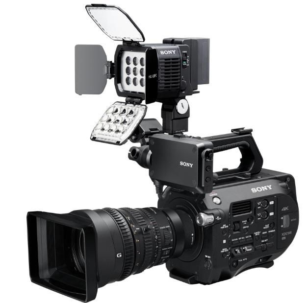 Las antorchas de Sony se pueden activar desde la cámara